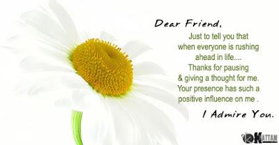 Dear Friend, Happy Birthday