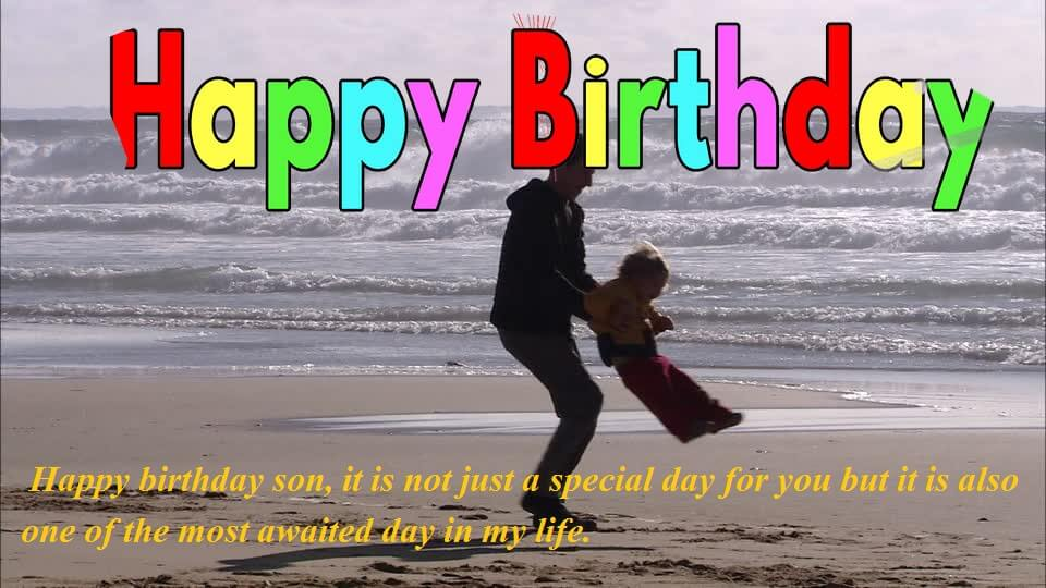 Birthday Wishes Quotes For Son