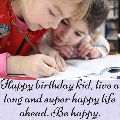 Happy Birthday Wishes For Kids Topbirthdayquotes