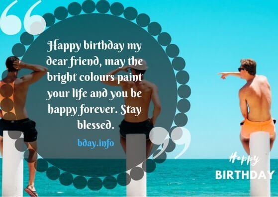 Birthday wishes for bestie