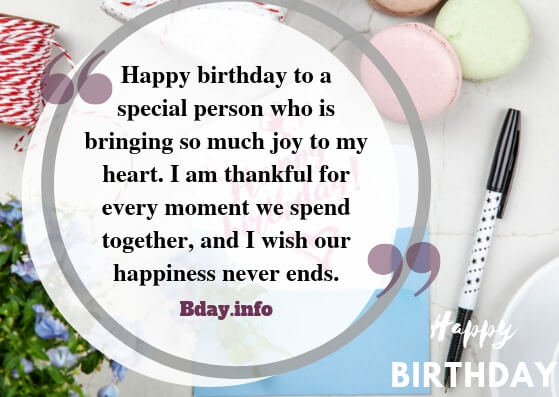 100 Impressive Birthday Wishes For Girlfriend Bday Info