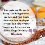 Happy Birthday My Love Impressive Wishes