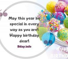 special birthday image wish