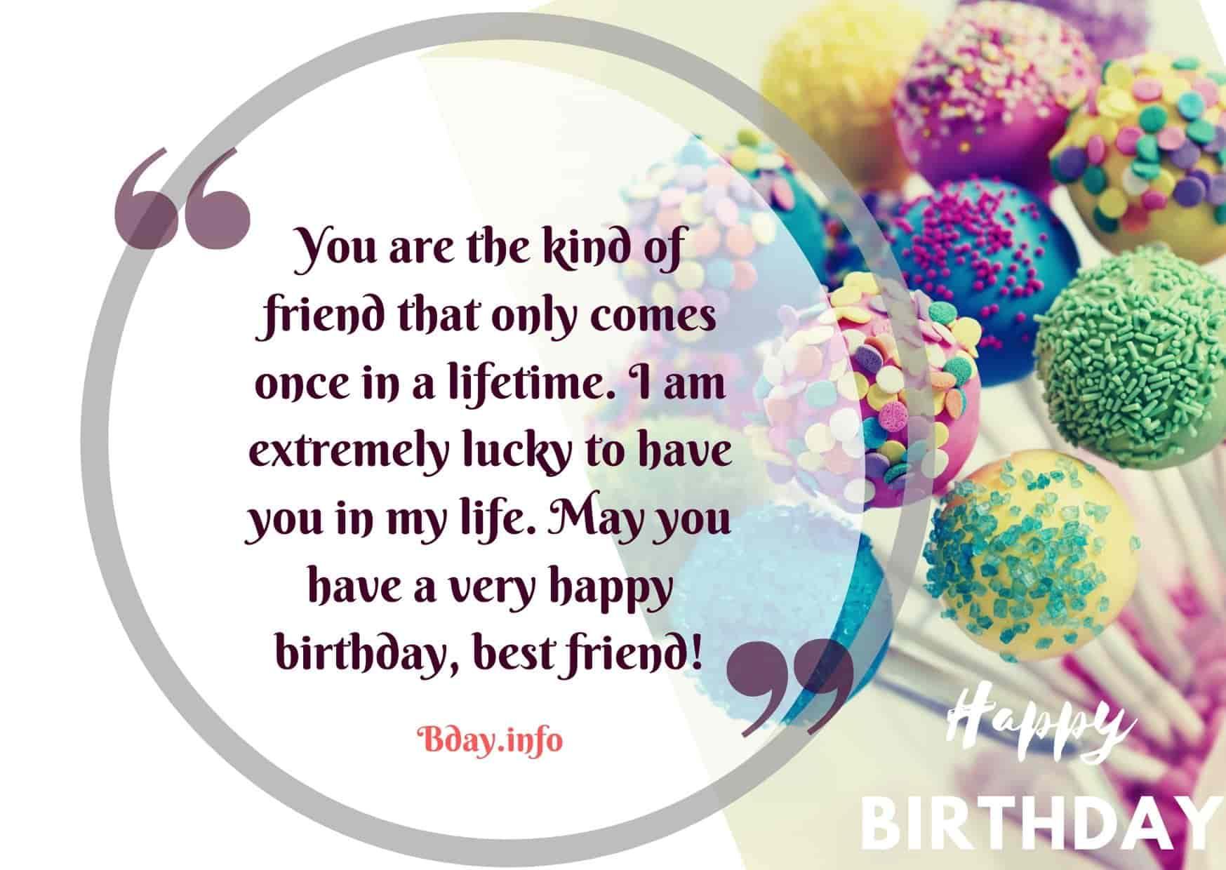 Birthday Wishes For Bestie Bday Info