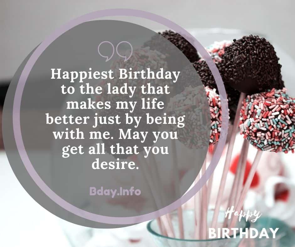 emotional birthday wishes for gf